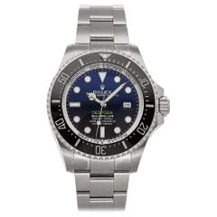 Rolex Sea-Dweller Deepsea 126660 Automatic Men's Watch SS D-Blue Dial with B&P