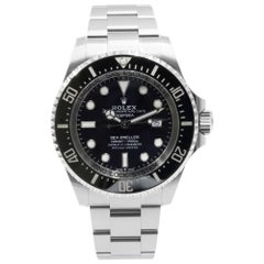 Rolex Sea-Dweller Deepsea 126660 Black Dial Steel Automatic Men's Watch