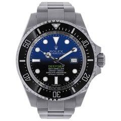 Rolex Sea-Dweller Deepsea D-Blue Dial Stainless Steel Watch 116660