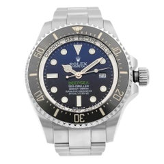 Rolex Sea-Dweller Deepsea D-Blue Dial Steel Ceramic Automatic Men Watch 116660