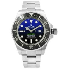 Rolex Sea-Dweller Deepsea D-Blue James Cameron Dial Steel Ceramic Watch 126660