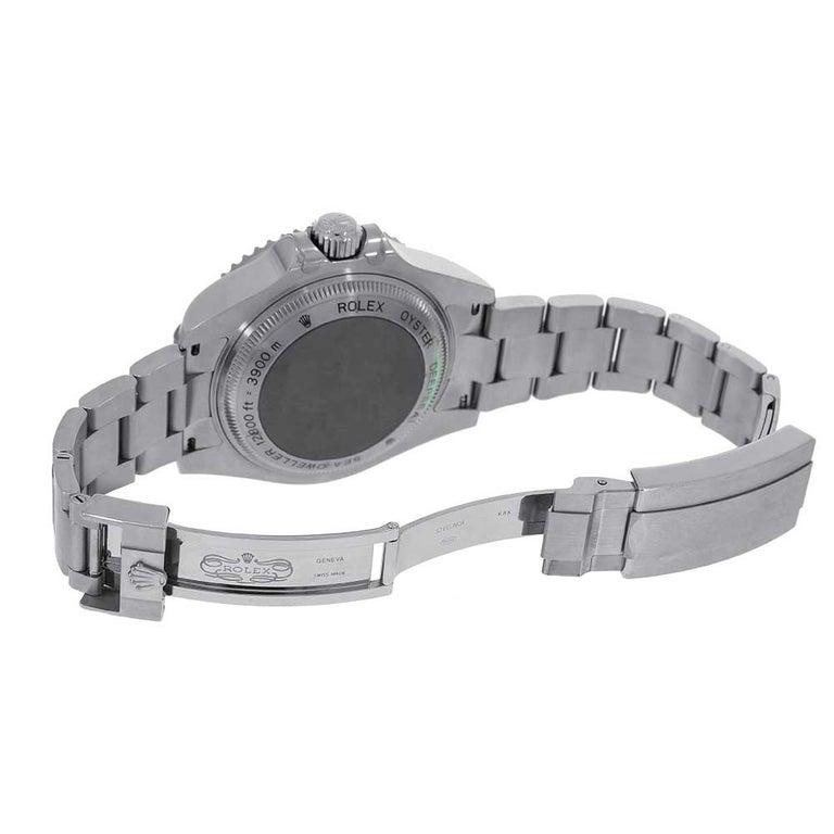 Men's Rolex Sea-Dweller Deepsea D-Blue Stainless-Steel Oyster Watch 126660