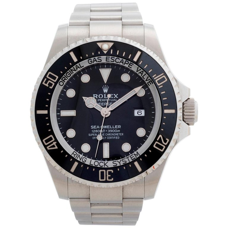 Rolex Sea-Dweller Deepsea, Reference 126660, Box and Papers