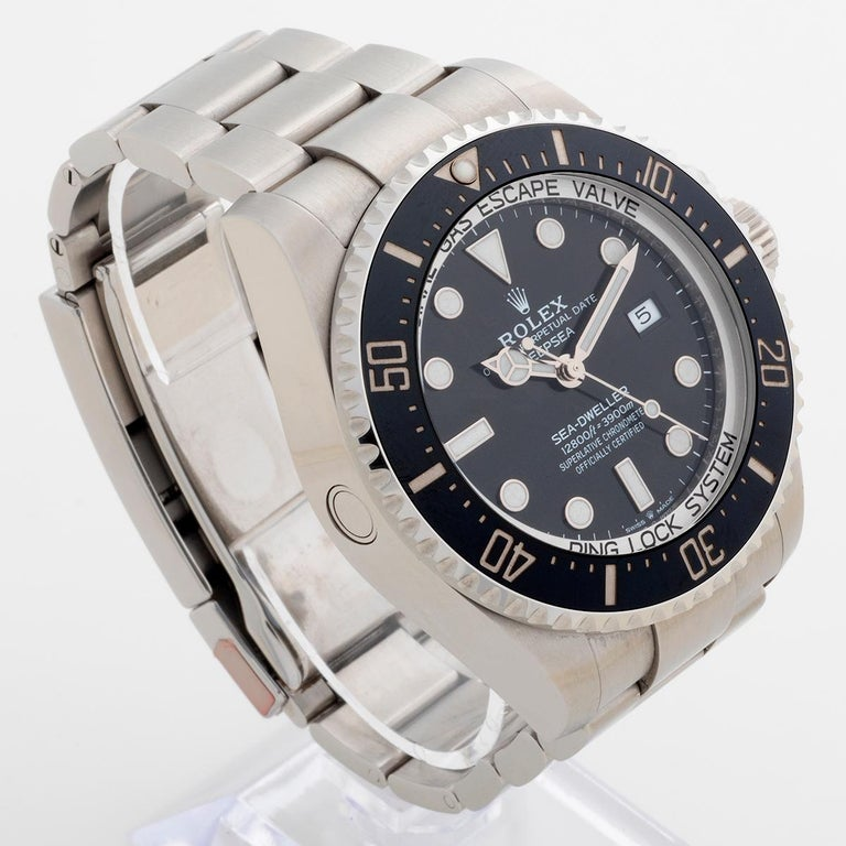 Rolex Sea-Dweller Deepsea, Reference 126660, Box and Papers In Excellent Condition In Canterbury, GB
