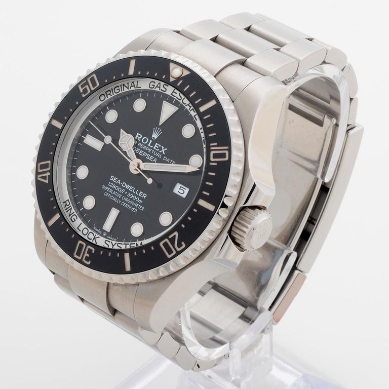 Women's or Men's Rolex Sea-Dweller Deepsea, Reference 126660, Box and Papers