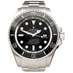 Rolex Sea-Dweller Deepsea Stainless Steel 116660 Wristwatch