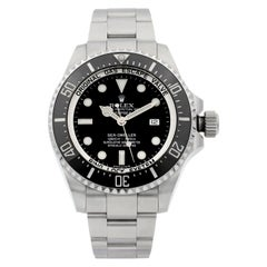 Rolex Sea-Dweller Deepsea Steel Ceramic Black Dial Automatic Men's Watch 116660