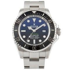 Rolex Sea-Dweller James Cameron Deepsea Blue Dial Watch 126660-0002