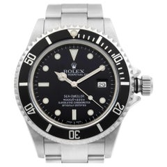 Rolex Sea-Dweller Stainless Steel Black Dial Automatic Men's Watch 16600