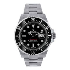 Rolex Sea-Dweller Stainless-Steel Sea-Dweller Black Dial Watch 126600