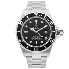 Rolex Sea-Dweller Steel Black Dial Automatic Men's Watch 16600