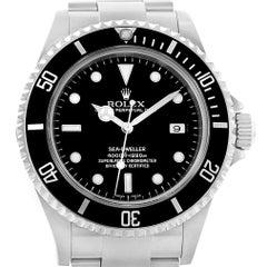 Rolex Seadweller 40 Black Dial Steel Men's Watch 16600