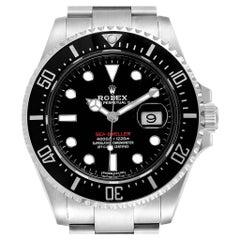 Rolex Seadweller 50th Anniversary Steel Men's Watch 126600 Box Card
