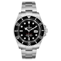 Rolex Seadweller 50th Anniversary Steel Mens Watch 126600 Box Card