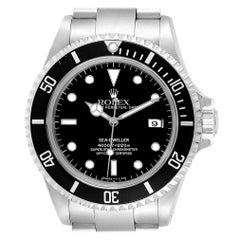 Rolex Seadweller Black Dial Steel Men's Watch 16600