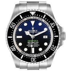 Rolex Seadweller Deepsea 44 Cameron D-Blue Dial Men's Watch 126660 Box Card