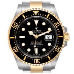 Rolex Seadweller Yellow Gold Steel Men's Watch 126603 Unworn
