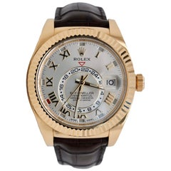 Rolex Sky-Dweller 326135 18 Karat Yellow Gold
