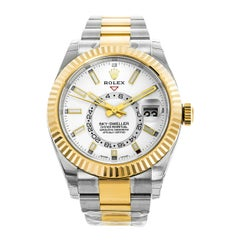 Rolex Sky-Dweller 326933 White Dial Steel and 18 Karat Gold Automatic Watch