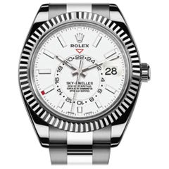 Rolex Sky-Dweller 326934, Black Dial, Certified and Warranty