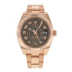 Rolex Sky-Dweller 326935 CH 18 Karat Everose Gold Automatic Men's Watch