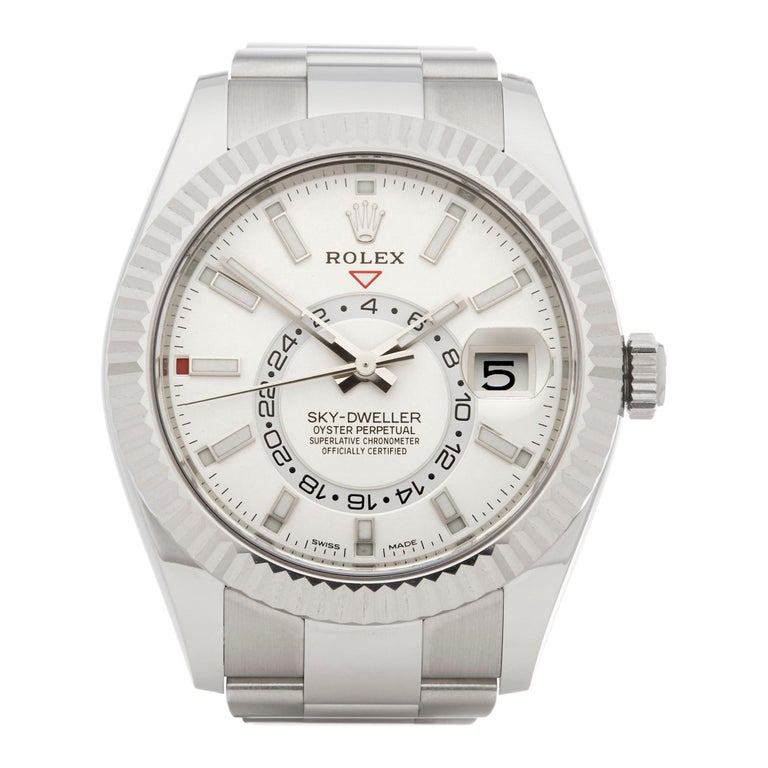 Rolex Sky-Dweller Stainless Steel 326934 For Sale
