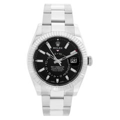 Rolex Sky-Dweller Stainless Steel Black Dial 326934