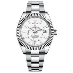 Rolex Sky-Dweller White Dial Automatic Men's Oyster Watch 326934WSO