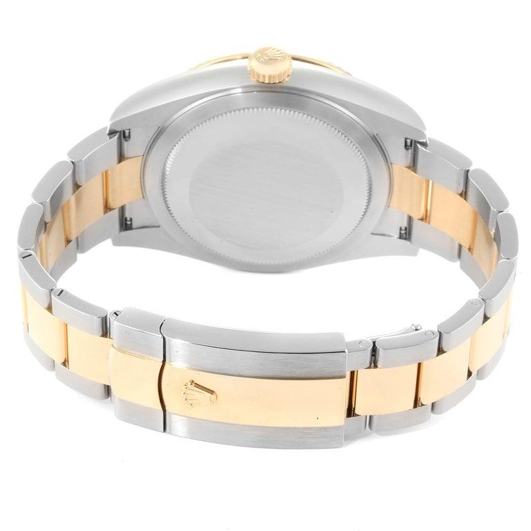 Rolex Sky Dweller Yellow Gold Steel White Dial Men's Watch 326933 Unworn For Sale 4