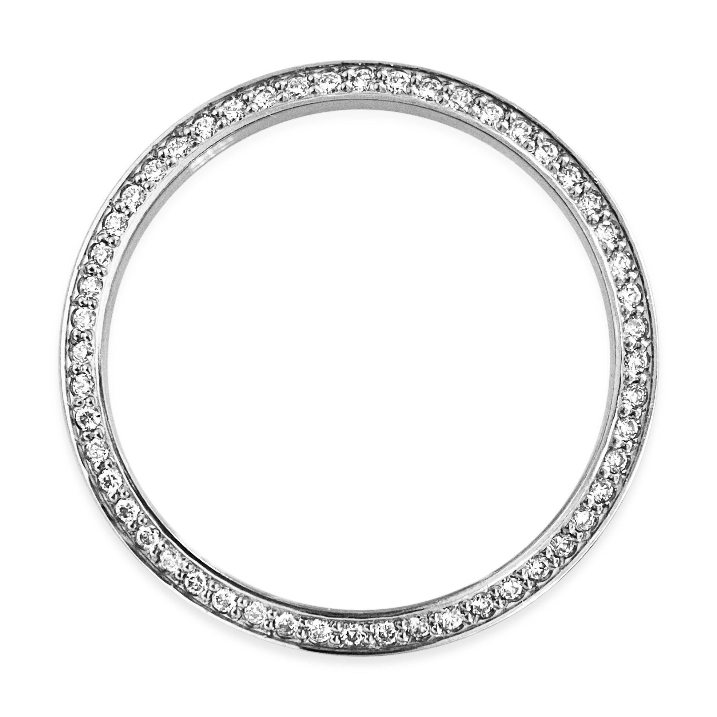 Rolex Stainless Steel 1.00 Carat VVS Diamond Bezel