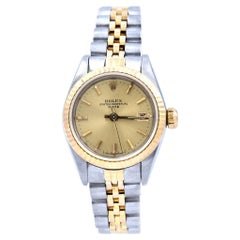Rolex Stainless Steel/18 Karat Yellow Gold Ladies Datejust Watch Ref. 79173