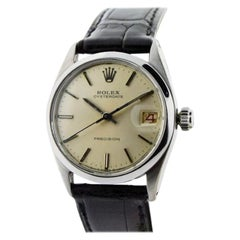 Rolex Stainless Steel Oyster Date Wristwatch from 1956