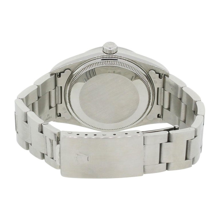 Rolex Stainless steel Air King Automatic Wristwatch, Ref 14000 In Excellent Condition For Sale In Boca Raton, FL