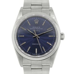 Rolex Stainless steel Air King Automatic Wristwatch, Ref 14000