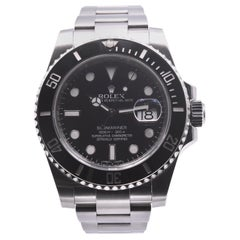 Rolex Stainless Steel Ceramic Submariner Reference # 116610