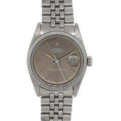 Rolex Stainless steel Datejust Automatic Wristwatch Ref 1601