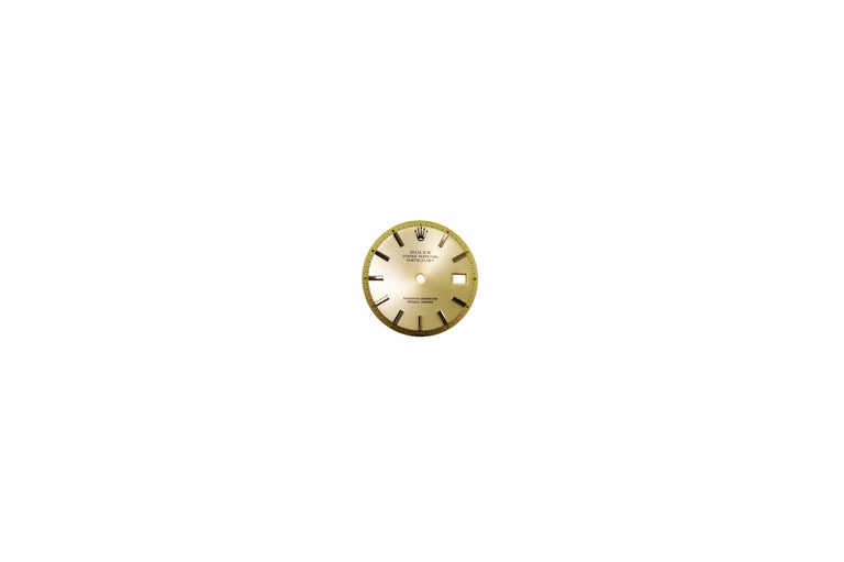 Rolex Stainless Steel Datejust Custom Pink Diamond Dial Wristwatch 2