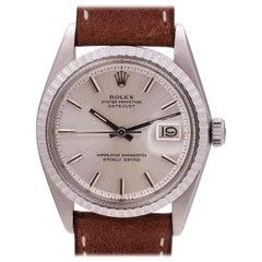 Rolex Stainless Steel Datejust self winding wristwatch Ref 1603, circa 1974