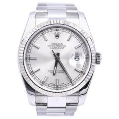 Rolex Stainless Steel Datejust Watch Ref. 116234
