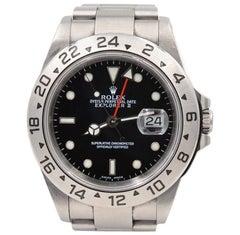 Rolex stainless Steel Explorer II automatic Wristwatch Ref 16570, 2003