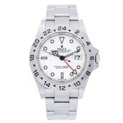 Rolex Stainless Steel Explorer II Automatic Wristwatch Ref 16570