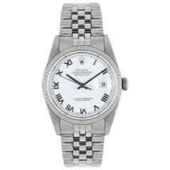 Rolex Stainless Steel Gents Datejust 16234 Watch