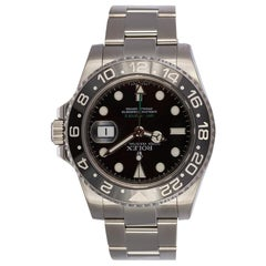 Rolex Stainless Steel GMT Master II 116710 Black Ceramic