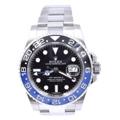 Rolex Stainless Steel GMT Master II Batman Watch Ref# 116710
