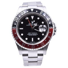 Rolex Stainless Steel GMT Master II Coke Bezel Watch Ref. 16710