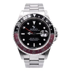 Rolex Stainless Steel GMT Master II Coke Watch Ref. 16710