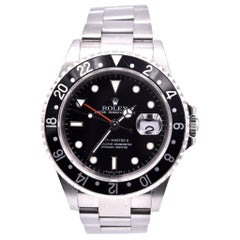 Rolex Stainless Steel GMT Master II Watch Ref. 16710