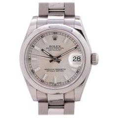 Rolex Stainless Steel Lady Rolex Datejust self winding Wristwatch 178240, c 2015