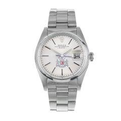 Rolex Stainless Steel Men's Calvert Wristwatch