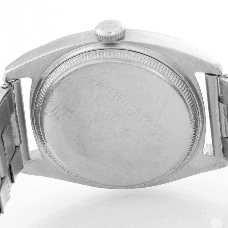 Rolex Stainless Steel Oyster Air-Lion Men's Watch Ref 4647 For Sale 1